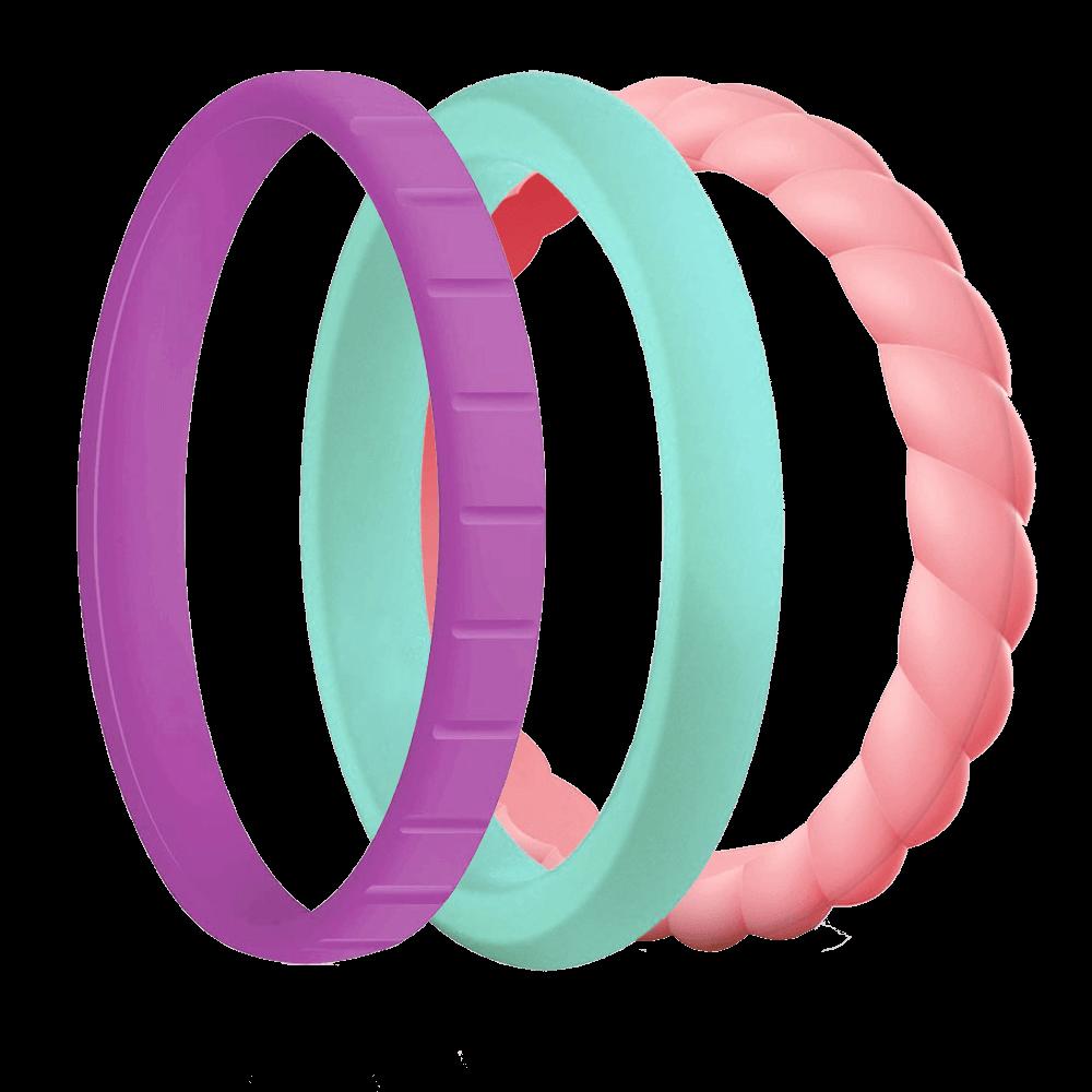 Наборные силиконовые кольца