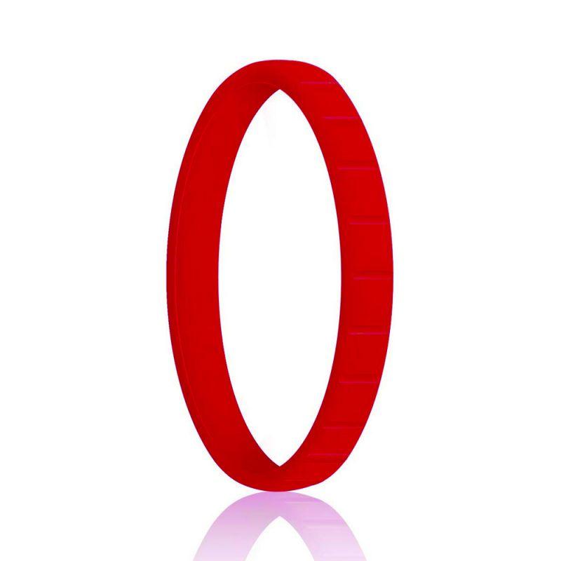 Силиконовое Кольцо Наборное Siring Square Красный