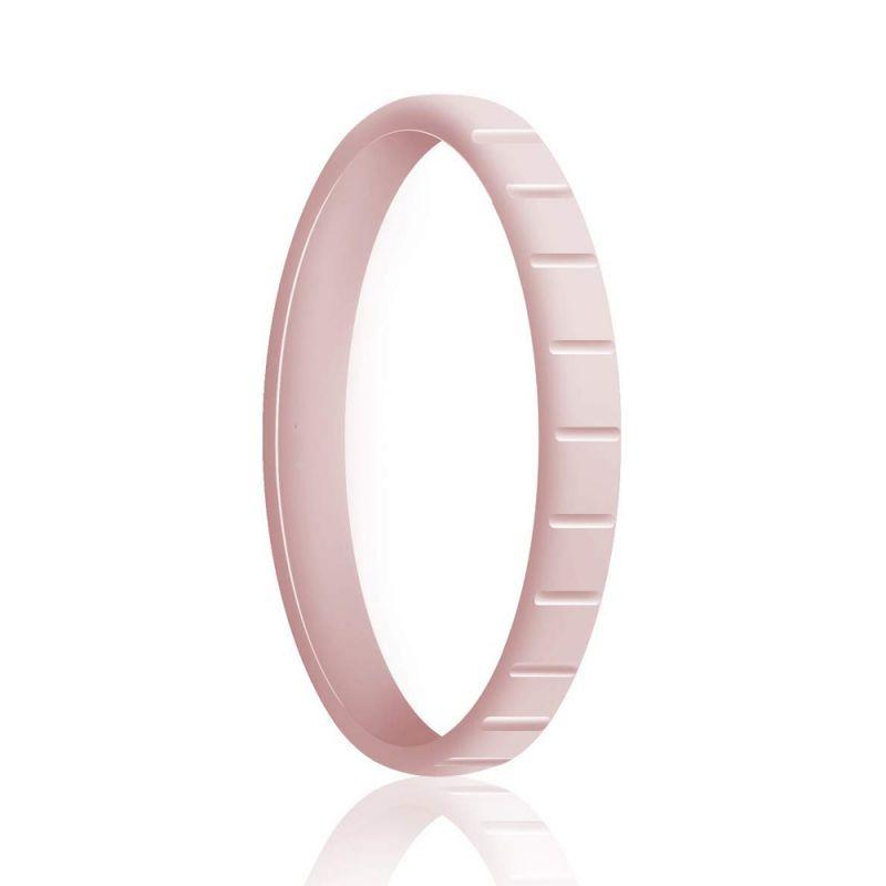 Силиконовое Кольцо Наборное Siring Square Розовый Мрамор