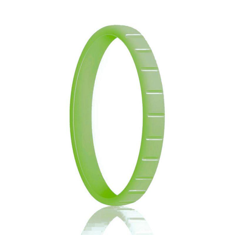 Силиконовое Кольцо Наборное Siring Square Зеленый