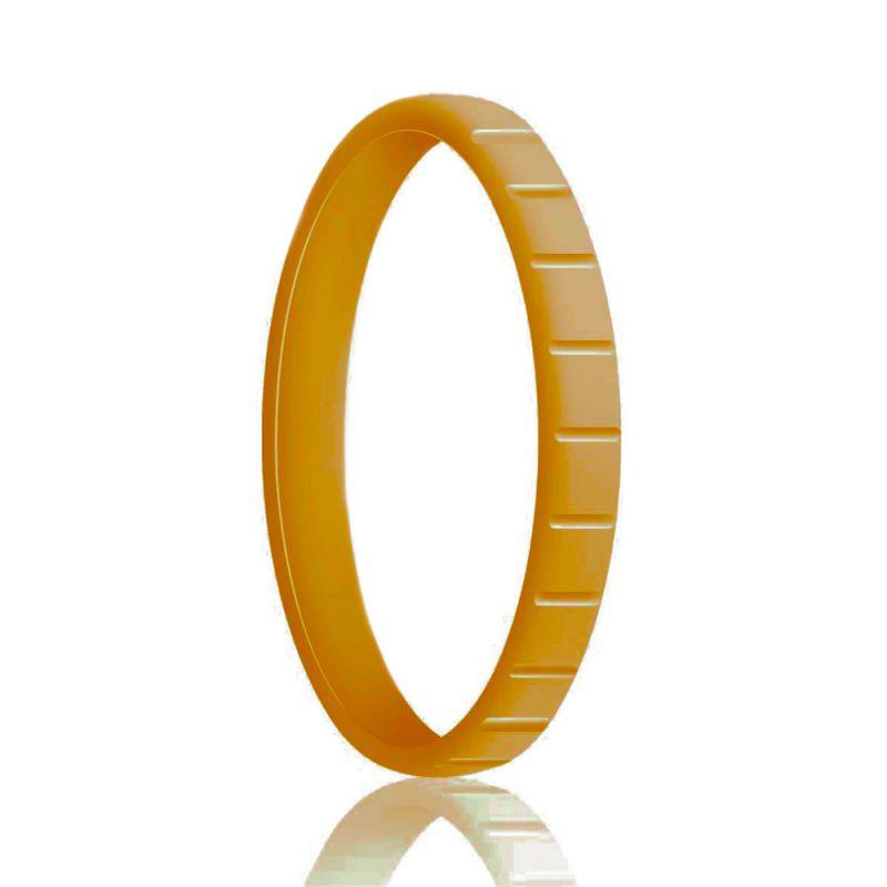 Силиконовое Кольцо Наборное Siring Square Золотой